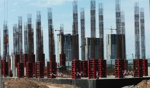 steel formwork for columns
